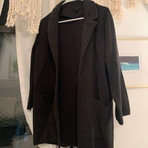 Jcrew wool oversized jacket